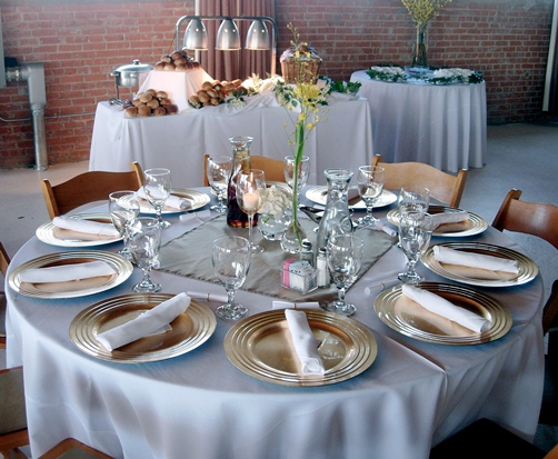 Party Tables Linens Amp Chair Rentals Aspen Catering