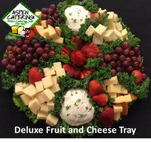 party trays and dips catering