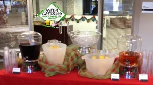 holiday beverage catering