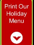 Holiday Menu Print