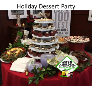 holiday dessert catering