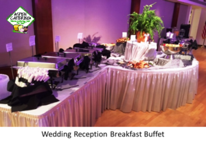 breakfast wedding catering
