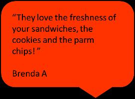 best sandwich catering