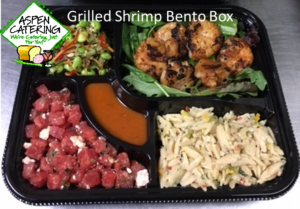 box lunch catering shrimp
